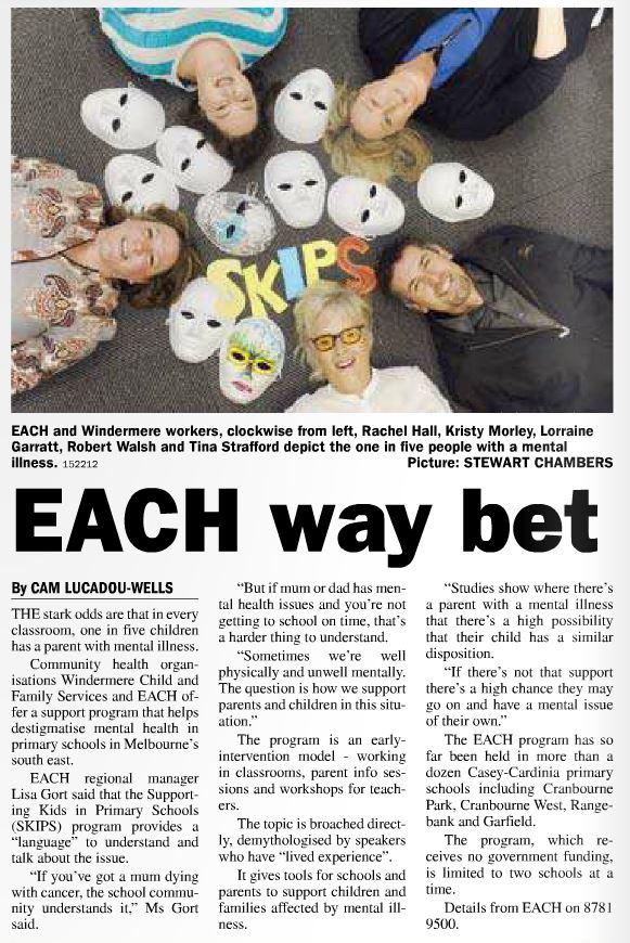 Berwick News - EACH Way Bet 120516 Mh-SKIPS V2