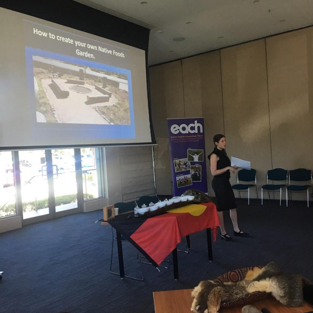 Cooks Network - Amy Wakem - HEAS presenting